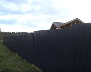 Профнастил забор и крыша