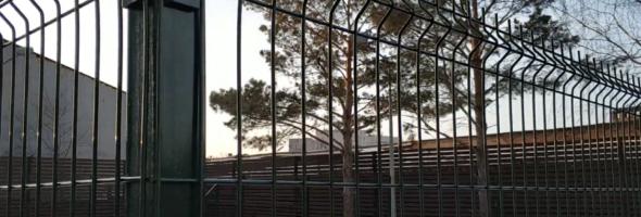Забор 3Д