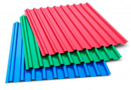 Цветные проф листы
