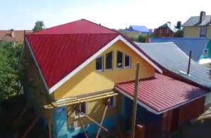 Крыша Судейкина для прямоугольного дома - Фото
